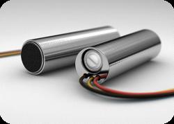 Активный микрофон для видеонаблюдения  с регулировкой чувствительности M-20