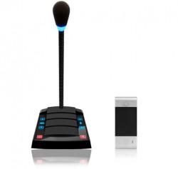Переговорное устройство клиент-кассир с функцией громкого оповещния S-500